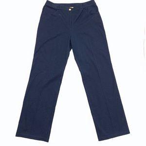 St. John gold label Navy High waisted pants
